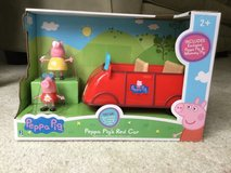 peppa pig's red car in Sugar Grove, Illinois