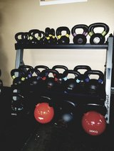Kettlebells in Fort Polk, Louisiana