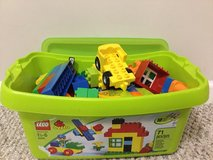 bucket of LEGO duplo in Sugar Grove, Illinois