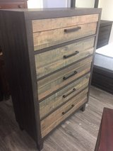 BRAND NEW! METRO 2TONE TALL CHEST OF DRAWERS / TALL DRESSER in Vista, California