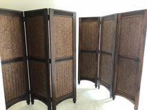 Room DIviders-Wood-3 Panel -Shutters-Folding-Privacy in Fort Lee, Virginia