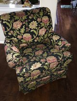 Custom Upholstered Swivel Rocker in Spring, Texas