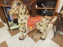 Rare Antique Mobo Toy Metal Riding Horse; fully operable; paint is very good. in Fort Leonard Wood, Missouri