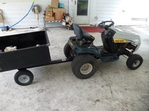 7 Speed Yardman w/Dump trailer in Camp Lejeune, North Carolina