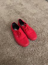 red vans shoes in Fort Riley, Kansas