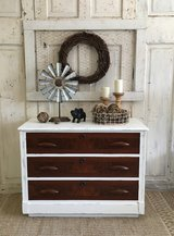 Antique Chest- white in Houston, Texas
