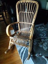 Rocking chair Wicker from 1950s in Orland Park, Illinois