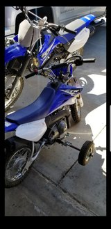 2014 Yamaha 125 & 50 in Fort Irwin, California