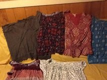 I got a lot of 3x to 2x women's tops I'm getting rid of $2-4 a shirt $10 for black dress. in Alamogordo, New Mexico