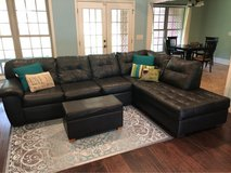 Sectional Sofa (Couch) & Ottoman in Fort Lewis, Washington