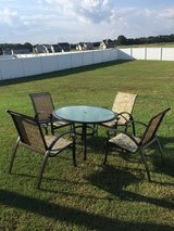 Out door table and four chairs in Goldsboro, North Carolina