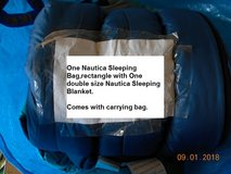 (1) Nautica Sleeping Bag & Blanket in Alamogordo, New Mexico