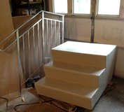 Mobile home stairs with handrail. New, never used. in Sandwich, Illinois