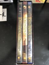 full screen the lord of the rings the motion picture trilogy DVD in Okinawa, Japan