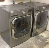 LG Ultra Large Capacity Washer and Dryer with Extended Warranty in Biloxi, Mississippi