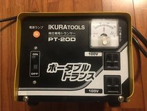 120v to 100v transformer 2000w perfect for on base in Okinawa, Japan