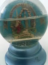 collectible vintage snow globe Lourdes France in Ramstein, Germany