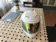 Brand new never used: ICON Airmada Gloss - White, motorcycle helmet size Large: $120 sell price. in Stuttgart, GE