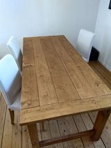 Farmhouse dining table w/ 4 chairs in Ramstein, Germany