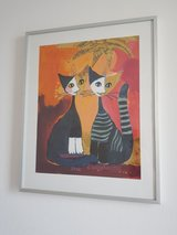 Painting by Rosina Wachtmeister in Ramstein, Germany