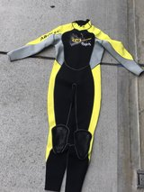 Aropec 3mm wetsuit in Okinawa, Japan