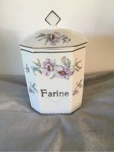 antique french ceramic flour box in Ramstein, Germany