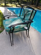 Patio chairs in Beaufort, South Carolina
