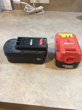 Black and Decker 18V batteries in Kingwood, Texas