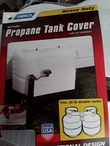 Double Propane Tank Cover in Travis AFB, California