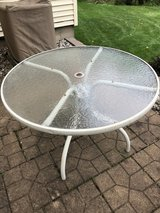 Patio table in Grand Rapids, Minnesota
