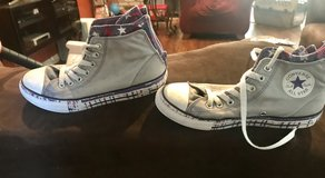Girls converse in Vacaville, California