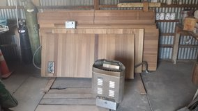 Cedar Sauna Modual Kit 6'x8' in Alamogordo, New Mexico