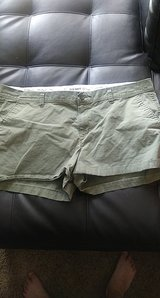 women's olive color shorts in Fort Bliss, Texas