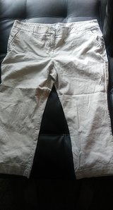 womens off white colored pants in Fort Bliss, Texas