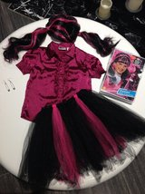 Monsters High Draculaura Costume size 5 6 7 8 in Fort Campbell, Kentucky