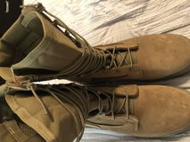 Combat boots in Lackland AFB, Texas