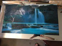 Havasu Falls electronic moving picture in Phoenix, Arizona