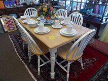 DINING TABLE & 6 CHAIRS in Cherry Point, North Carolina