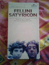 VHS Fellini Satyricon in Alamogordo, New Mexico