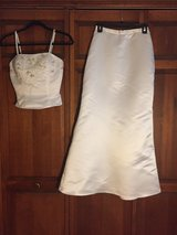 White two piece dress in St. Charles, Illinois