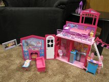Barbie doll house in Westmont, Illinois