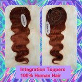 "Integration Topper Length 20""/ Body Wave Color #33/ Size 5""x6"" in Gainesville, Georgia"