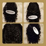 "Integration topper 8"" Loose Waves/Color #1 Black in Gainesville, Georgia"