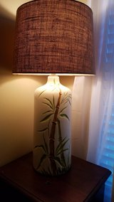Vintage bamboo lamp in Perry, Georgia