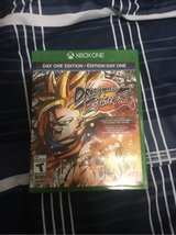 Dragonball FighterZ for Xbox One with SSB Goku collectible in Fort Polk, Louisiana