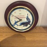 COLLECTOR GUINNESS CLOCK WITH NEW BATTERY in Lakenheath, UK