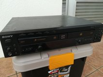 REDUCED Sony 5 Disk CD Changer and CD Writer in Okinawa, Japan