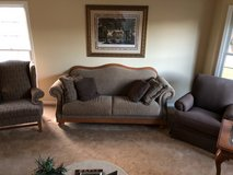 Broyhill couch and 2 chairs in Joliet, Illinois