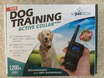 Dog training collar in Fort Benning, Georgia