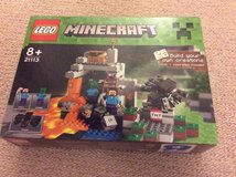 Lego Minecraft 21113 set - The Cave in Lakenheath, UK